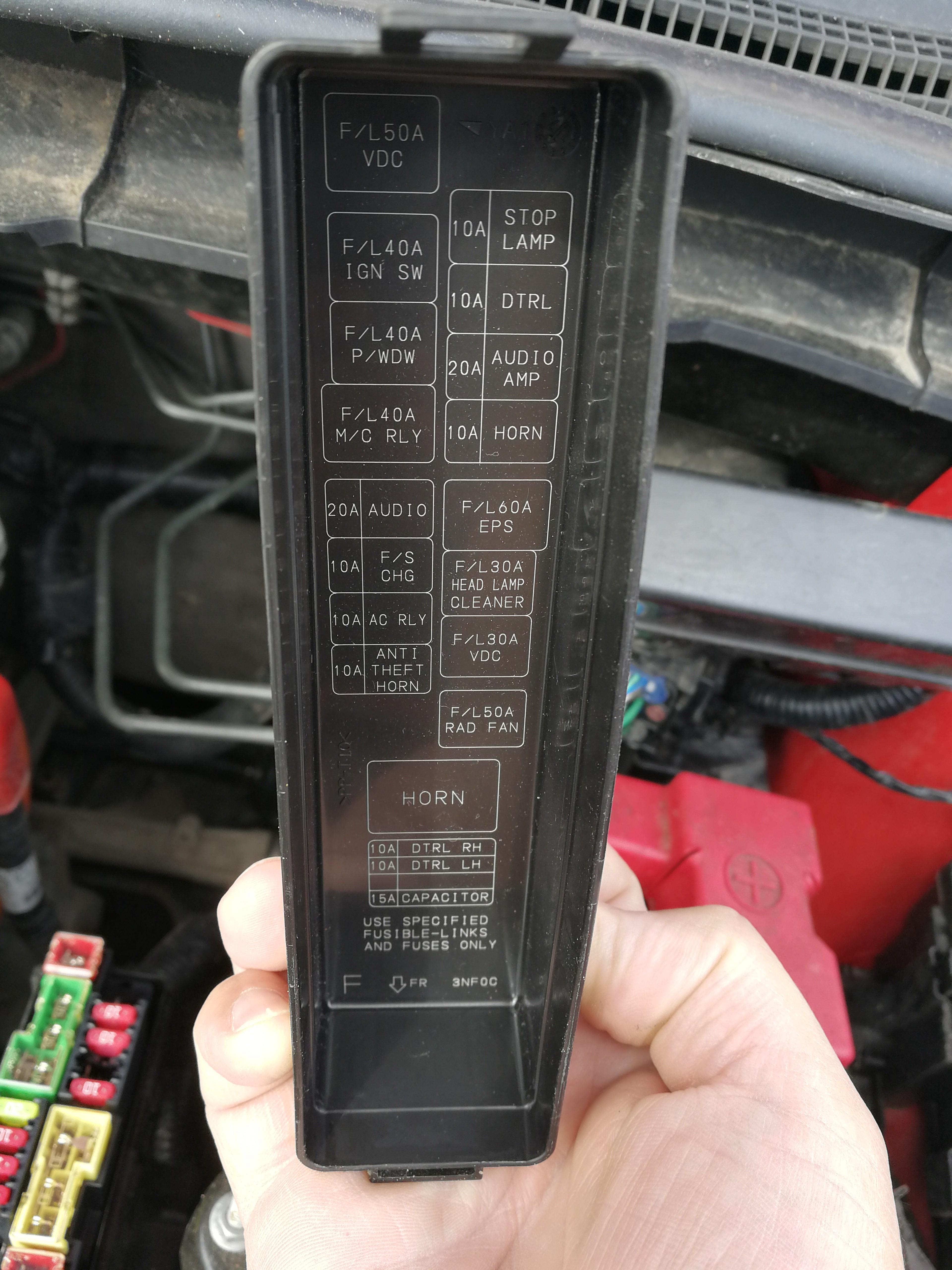 Nissan Leaf Fuse Box 1 Cover Speak Ev Electric Car Forums