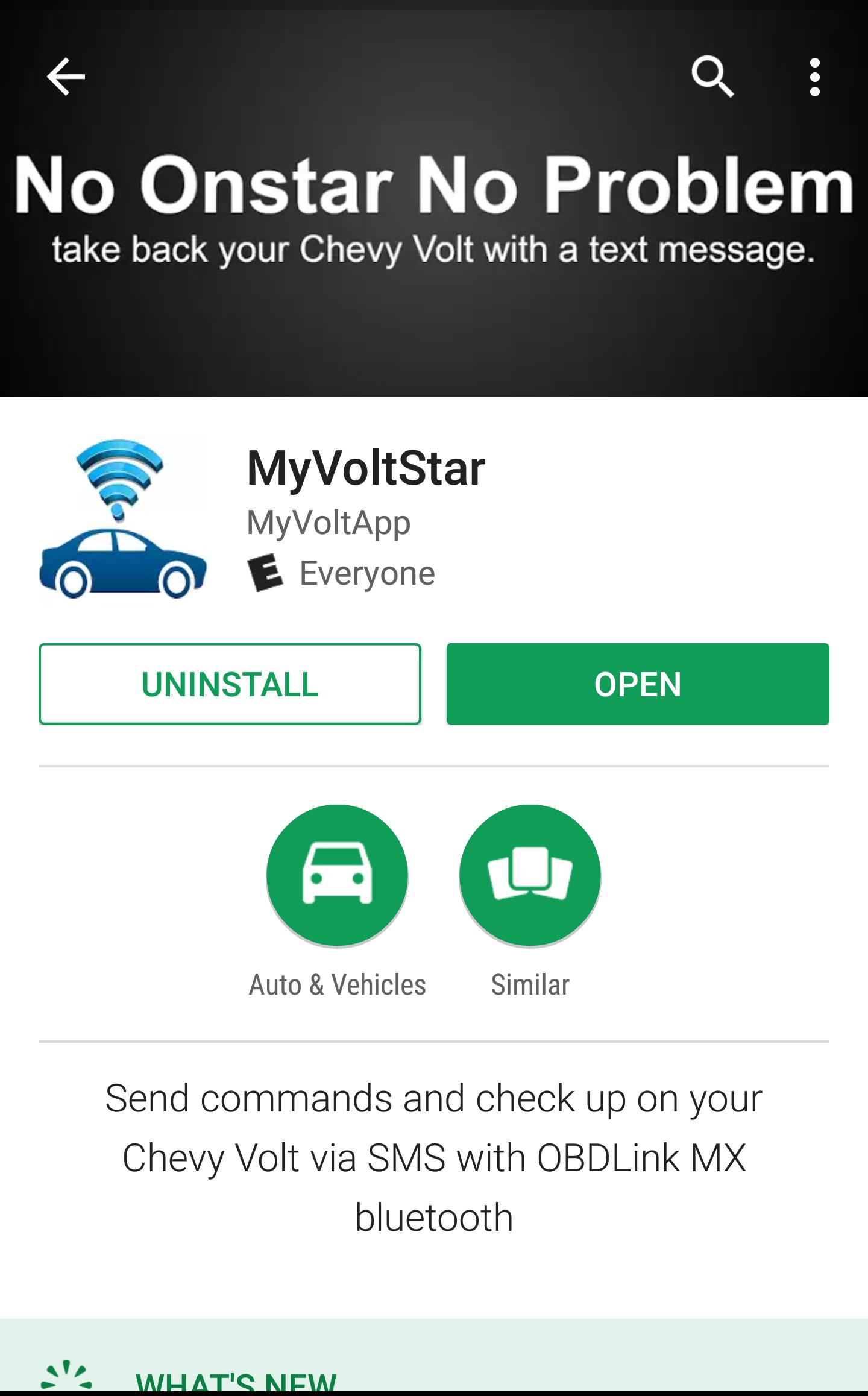 OVMS/Onstar alternative MyVoltStar   Speak EV - Electric Car Forums