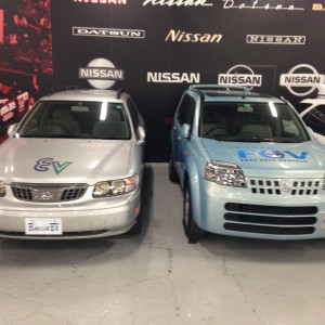 Nissan Test Vehicles